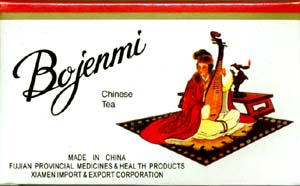 Bojenmi Chinese Tea