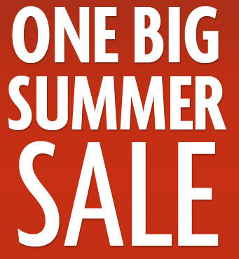 Buy 3, Get 1 Free Annual Summer Web Sale! (July 1 - August 31)
